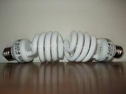 100 WATT CFL GROW LIGHT BULBS - 65OO K SPECTRUM! USES 23 WAT