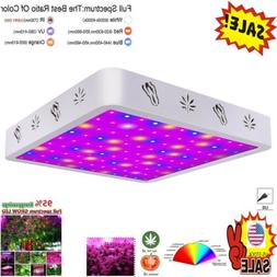 1000/2000W LED Grow Light Full Spectrum for Indoor Plants Ve