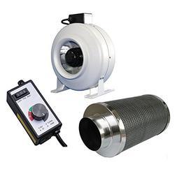 SPL 1000 STIC 8-Inch Premium Carbon Charcoal Air Filter Scru