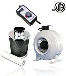 SPL 1000 STIC 4-Inch Premium Carbon Charcoal Air Filter Scru