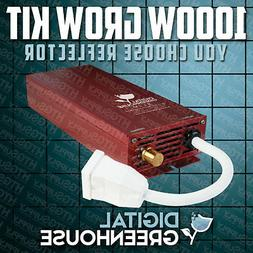 1000 watt DIGITAL SLIM GROW LIGHT KIT 1000w HPS w BALLAST BU