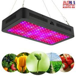 Morsen 1000W/1500W LED Grow Light Full Spectrum Indoor Veg F