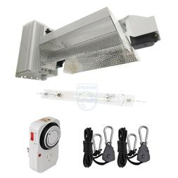 Hydro Crunch 1000W Double Ended Grow Light Fixture OPEN W/Ph