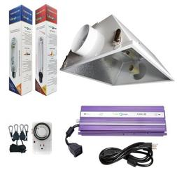 Hydroplanet™ 1000W Horticulture Air Cooled Hood Set Grow L