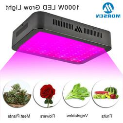 Morsen 1000W LED Grow Light Full Spectrum For Veg Flower Ind