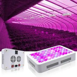 1500W-600W Full Spectrum LED Growing Light Dual Switch Fixtu