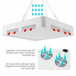 1000W LED Grow Light Hydroponic Full Spectrum Indoor Veg&Flo