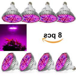 100W Led Grow Light Bulbs Full Spectrum 150 LEDs for Indoor