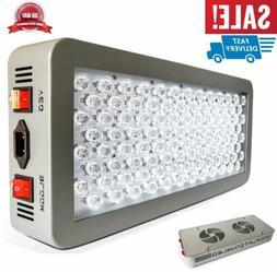 12-band LED Grow Light DUAL VEG/FLOWER FULL SPECTRUM Whisper