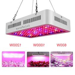 1200W 1000W 600W LED Grow Light Panel Lamp for Indoor Greenh