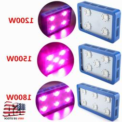 1200W~1800W LED COB Plant Grow Light Panel Reflector Full Sp