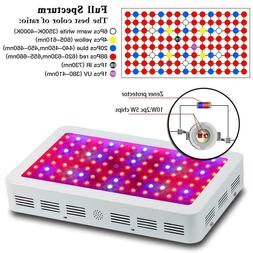 1200W LED Grow Light Full Spectrum For Indoor Plants ColoFoc