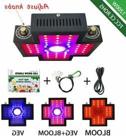 1200W LED Plant Grow Light COB Full Spectrum Light with Veg