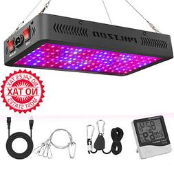 1200W LED Plant Grow Light,with Thermometer Humidity Monitor