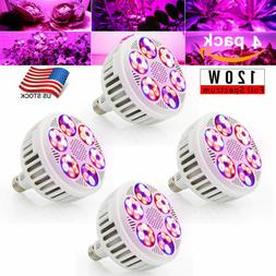 120W Full Spectrum UFO LED Grow Light Bulbs For Indoor Hydro