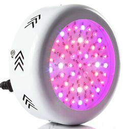 150W 50LED Grow Light Lamp Ultrathin Panel UFO SMD Bulbs Ind