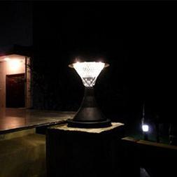 Yiding 16 LED Outdoor Garden Path Landscape Fence Yard Pilla