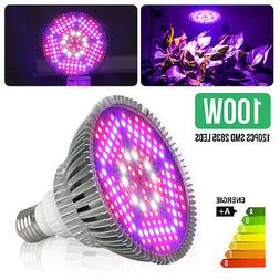 100Watt LED Grow Light Bulb Plant Grow Lamp E27 Full Spectru
