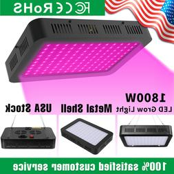 1800W LED Grow Light Full Spectrum Indoor Hydroponic Grow Ho