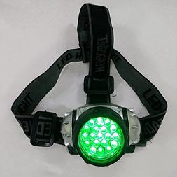 DSstyles 2Pcs 19 LED High Intensity Green Head Light Hydropo