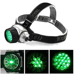 elegantstunning 19 LED High Intensity Green Head Light Hydro