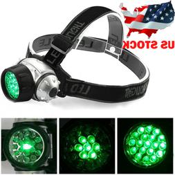 19 LED Plant Grow Light Green Light Headlamp for Indoor Hydr
