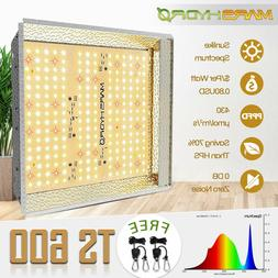2*300W LED Grow Light Veg Bloom Full Spectrum Indoor Medical