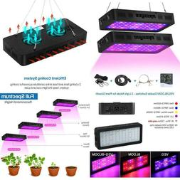 Missyee 2 Pack 600W Led Plant Grow Light With Thermometer Hu