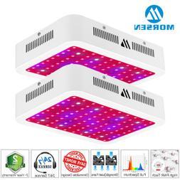 2Pack Morsen 1000w Full Spectrum Led Grow Light Indoor Hydro