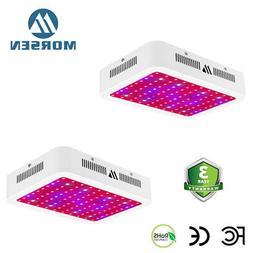 Morsen 2 Pack M Series 1000W Full Spectrum Led Grow Light Fo