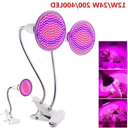 200/400LED Plant Grow Light Bulb Clip Holder Flower Growing