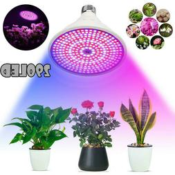200 LED E27 Plant Grow Light lamp flower seeds Growing Light