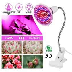 200 leds Plant Grow light bulbs clip holder flower Growing G