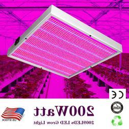 200 watt 2009leds led grow light system