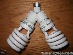 200 WATT CFL GROW LIGHT KIT/ SET- FOR BLOOM AND FLOWERING- N