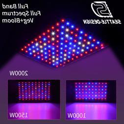 2000w 1500w 1000w led grow light full