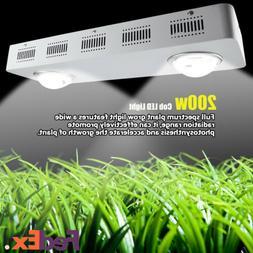 200W COB LED Grow Light Full Spectrum Acceleating Hydroponic