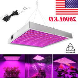 200W LED Grow Light Full Spectrum Hydroponic Indoor Plant Fl