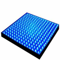 HQRP Blue Grow LED Light Panel for Vegetative Glowth Promoti