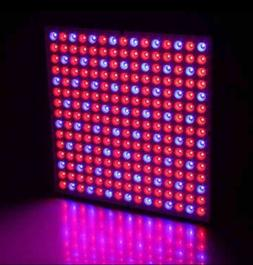 225 LED 45w Hydroponic Grow Light Panel Indoor Garden Plant