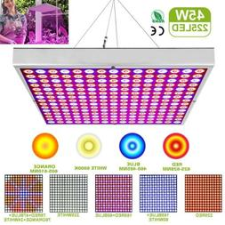 45W 225 LED Grow Light Plant Lamp for Greenhouse Hydroponic