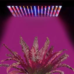 225 LED Hydroponic Grow Light Panel Indoor Garden Plant Blue