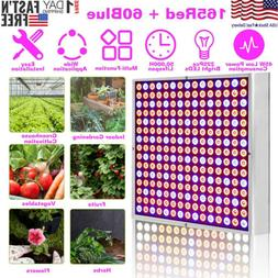 225 LED Plant Grow Light Lamp Panel  45W Indoor Greenhouse H