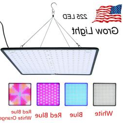 225LED Grow Light Growing Lamp UFO SMD Bulbs For Veg Flower