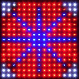 225LED Grow Light Lamp Full Spectrum Blue Red Orange White Q