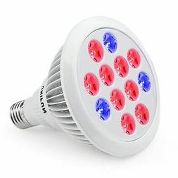 24W LED Grow Light Bulb, UNIFUN E27 Growing Plant Lamp for G