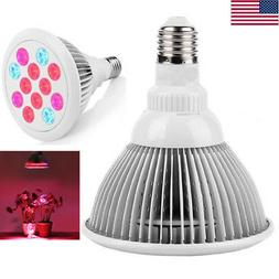 24W LED Hydroponics Indoor Plant Grow Light Bulbs Full Spect
