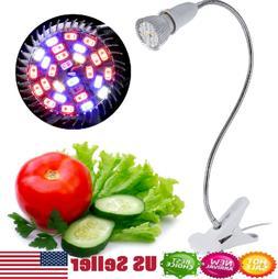 28 LED Hydroponic Plant Grow Light Indoor Garden Home Flexib