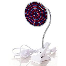 Fashionwu 290 LEDs E27 Desk Holder Clip Plant Grow Light Ful