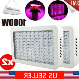 2Pack 1000Watt LED grow light Full Spectrum for Indoor Medic